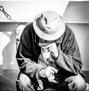 Man with Harmonica